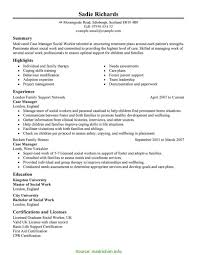Entry Level Management Resume Examples Trending Refugee Case Manager Resume Cover Letter Entry