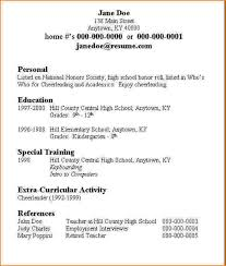 Related For 5+ how to list high school on resume