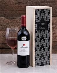 gifts personalised crystler wine crate