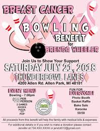 Benefit Flyer Wording Breast Cancer Bowling Benefit Flyer Bowling Benefit Flyer Fundraiser Event Flyer Bowling Benefit Invite Strike Out Breast Cancer