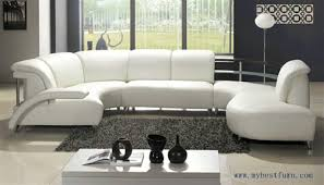 Simple Comfortable Sofa Sets White Leather Free Shipping Fashion Design Intended Concept Ideas