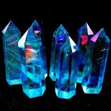 <b>Rainbow Quartz Crystal</b> Points