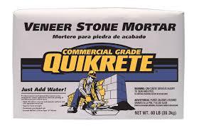 quikrete veneer stone mortar no 1137