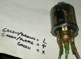 sprite 58 turn indicator problems 550 Flasher Wiring Diagram the picture below is how the wire color codes compare to the triden el13 flasher on my mini 2 Terminal Flasher Wiring