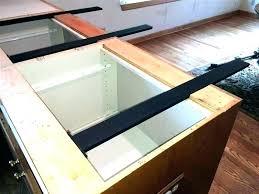 granite countertop overhang support requirements island guidelines