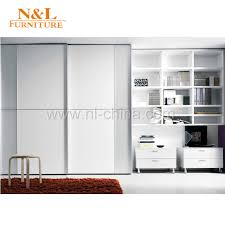 china wood sliding door closet wardrobe with white colour pvc door china wood sliding door wardrobe sliding door wardrobe