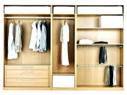 closet storage systems system drawer layouts organization size bedroom ikea syst