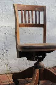 antique wooden office chair. reserved for lydia antique swivel chair vintage bankers wooden mid century industrial rolling office task