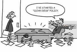tidy office. Tidy Office Cartoon 1 Of
