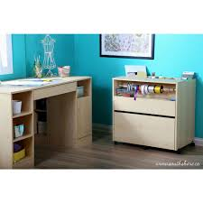 Maple Storage Cabinet South Shore Crea Laminated Particleboard Craft Storage Cabinet