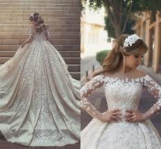 Sexy Hochzeitskleid Mit Spitzeärmel Prinzessin Brautkleid mit ...
