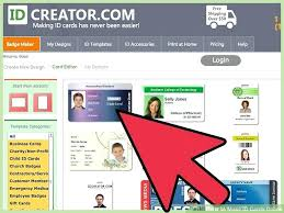 employee badges online business photo id cards image titled make id cards online step 6