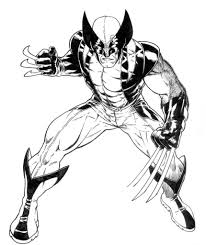 Small Picture Wolverine Coloring Pages 21023 plaaco
