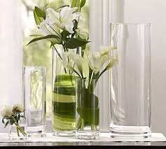 aegean clear glass vase by pottery barn 44 pottery barn