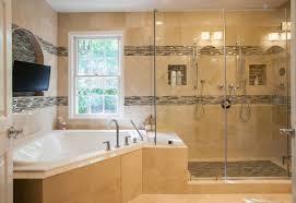 Small Master Bath Full Luxury Treatment Articles Fairfaxtimescom - Small master bathroom