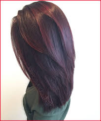 dark brown hair color with red tint 541110 red violet hair color with red balayage highlights on short hair