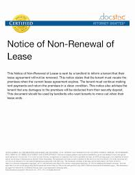 tenant renewal letter terminate tenancy agreement letter sample best of lease renewal