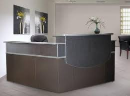 l shaped reception desk. Modern Reception Station To Complement Your Command Console Furniture L Shaped Desk