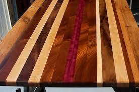 Custom Made Reclaimed Wood Countertop, Custom Tabletop, Unique Desktop