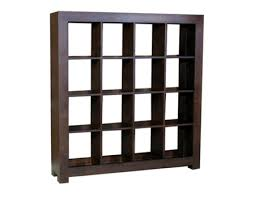 cube style display shelving unit