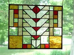 outdoor stained glass panels best mission prairie arts crafts glass images on prairie style stained glass