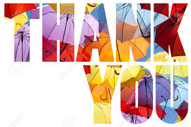 Word Thank You Word Thank You Over Abstract Background Stock Photo Picture And