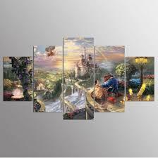 <b>YSDAFEN 5 Panels</b> Movie Wall Art Canvas Print Room Decor ...