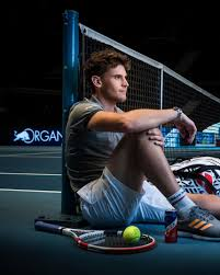 First round • no.2 court. Tennis Dominic Thiem Interview April 2020