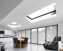 Pitched Roof Lighting Solutions Large Roof Lights With Hinges Roofmaker Skylights
