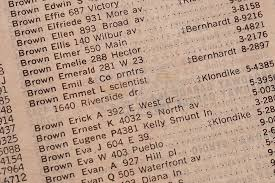 Back To The Future Lous Phonebook Page With Docs Address