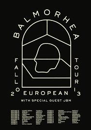Fall European Land Tour Poster Balmorhea