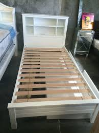 magic king size bed slats single with head storage white timber new goingbunks biz