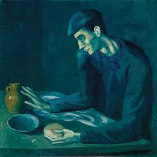 pablo picasso essay heilbrunn timeline of art  the blind mans meal