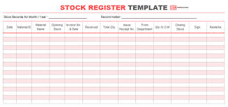 This is a file extension for a spreadsheet file format. Stock Register Book Format Samples Templates For Excel