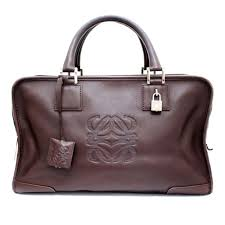 details about loewe a 35 mini boston handbag leather women