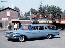 Chevrolet Brookwood Station Wagon 1959 wallpapers (1024x768)