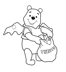 Small Picture Winnie The Pooh Halloween Coloring Pages GetColoringPagescom