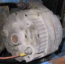 "catalog shown above is the first generation gm delco remy alternator built in voltage regulator the ""one wire"" alternator shown above only has a heavy gauge"