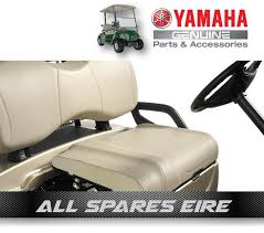 genuine oem yamaha golf cart buggy stock ivory bottom seat cover g29 drive ydr 1 of 3 see more