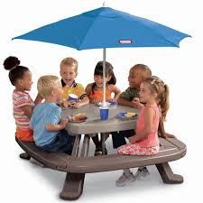 little kids picnic table stunning tikes easy with umbrella home design ideas 23