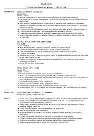 Html Resume Sample Html Resume Samples Velvet Jobs 1