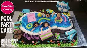 Happy Birthday Cakepool Party Cake For Kids Boys Girls Homemade