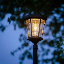 victorian bulb solar lamp and single lamp post with gs solar led light bulb gs 94b s gamasonic solar lighting