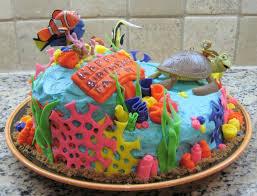 Faiths Finding Nemo First Birthday Cake No Shortcuts