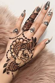 Free Hand Mehndi Design 32 Free Henna Tattoo Design You Can Do Best Henna Drawings