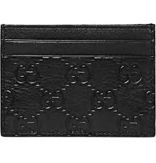 Mens Designer Card Case Gucci Leather Card Case For My Man Leather Card Case