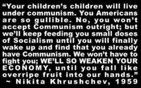 「1960, Soviet leader Nikita Khrushchev took off one of his shoes and pounded his table with it to make his point.」の画像検索結果