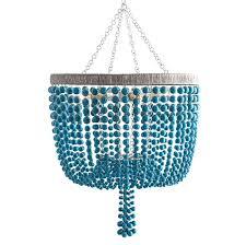 turquoise chandelier lighting. Terio Coastal Beach Turquoise Bead Chandelier Lighting A