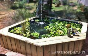 Small Picture 17 Beautiful Backyard Pond Ideas For All Budgets Empress of Dirt