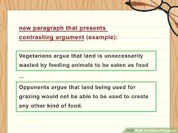 how to write a paragraph sample paragraphs wikihow image titled write a paragraph step 7